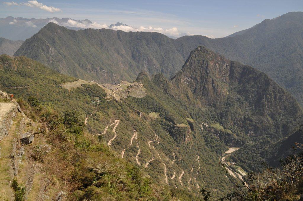 Porte du soleil Machu Picchu