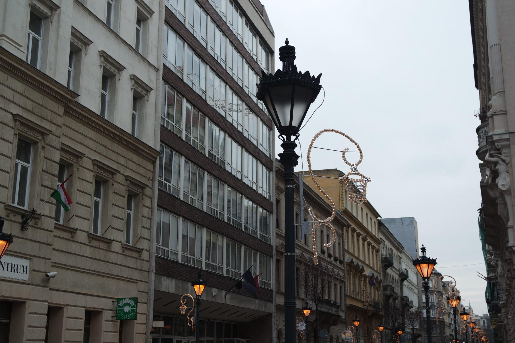 Budapest en hiver noël