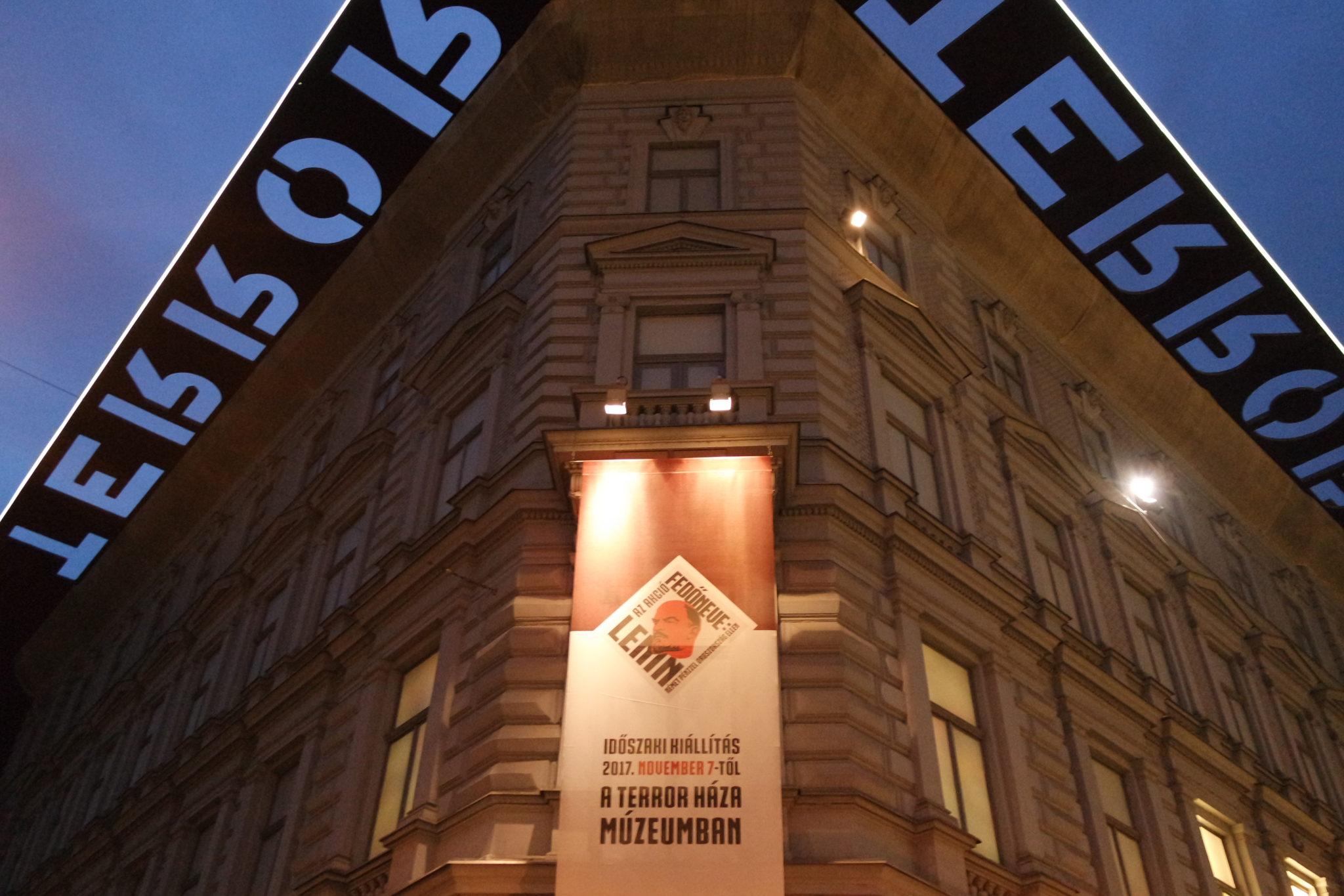 Budapest en hiver maison de la terreur