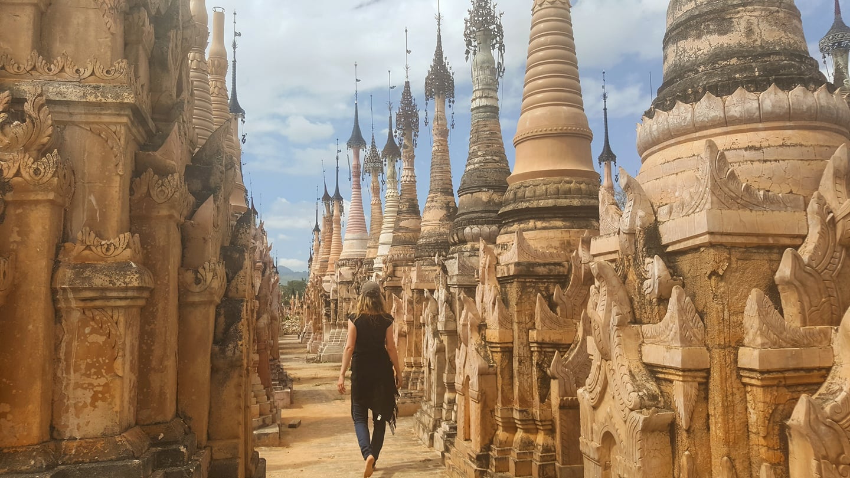Taunggyi temple Kakku