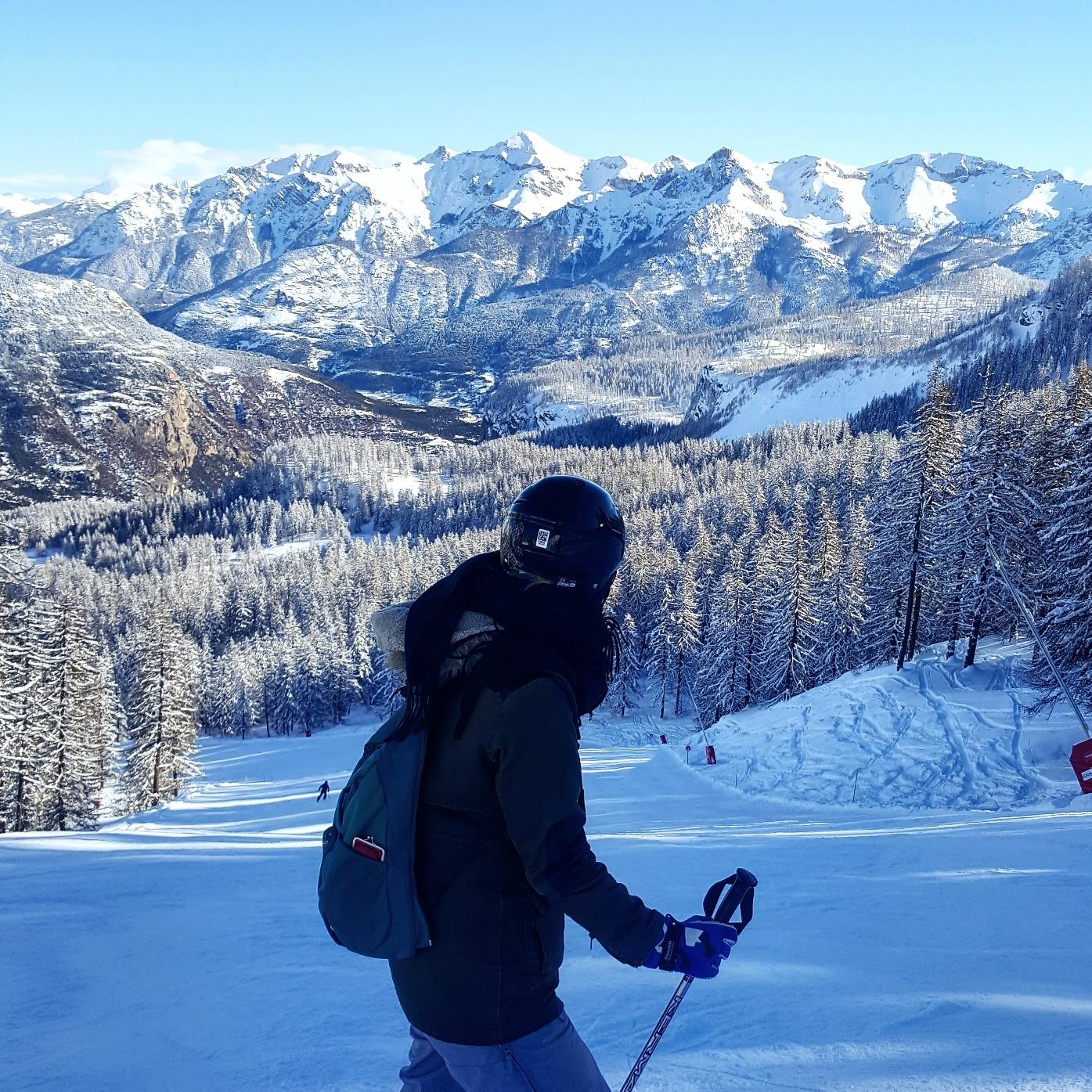 Puy Saint-Vincent en hiver