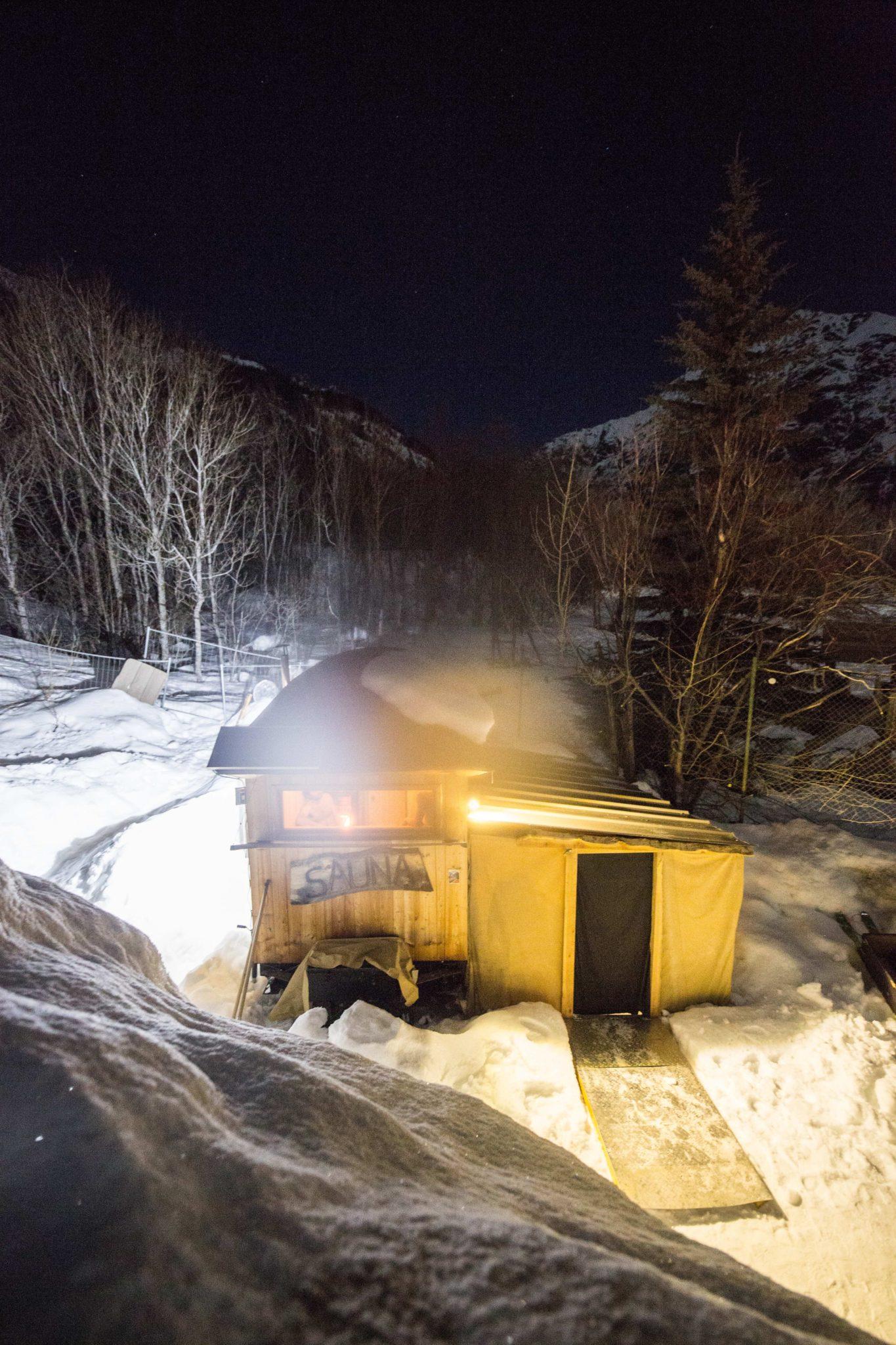Sauna mobile Pelvoux