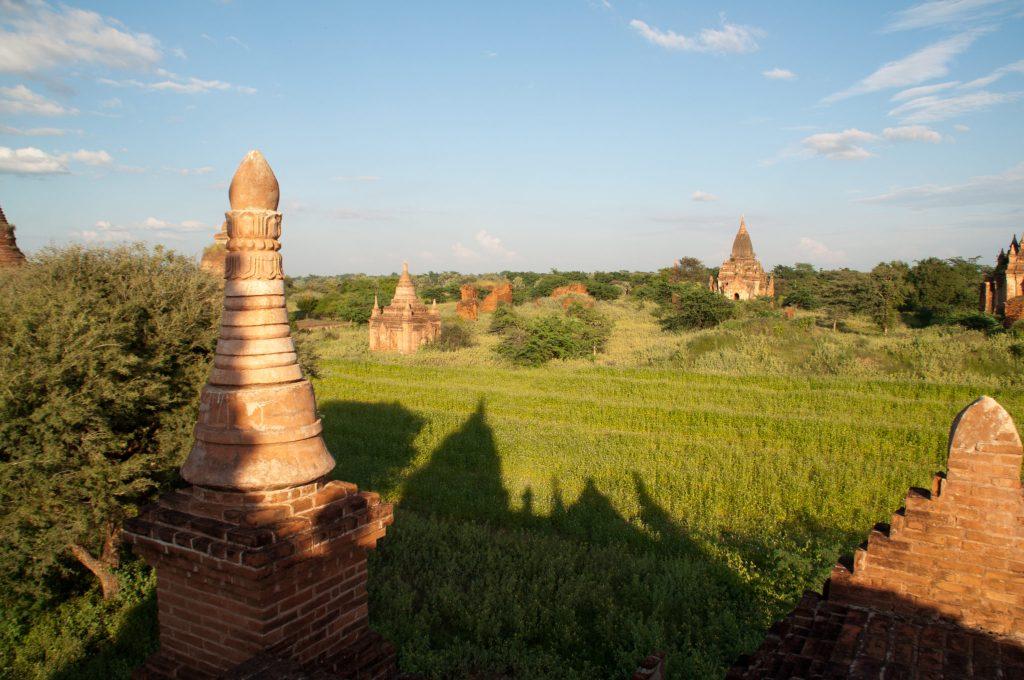 Vue Bagan Birmanie