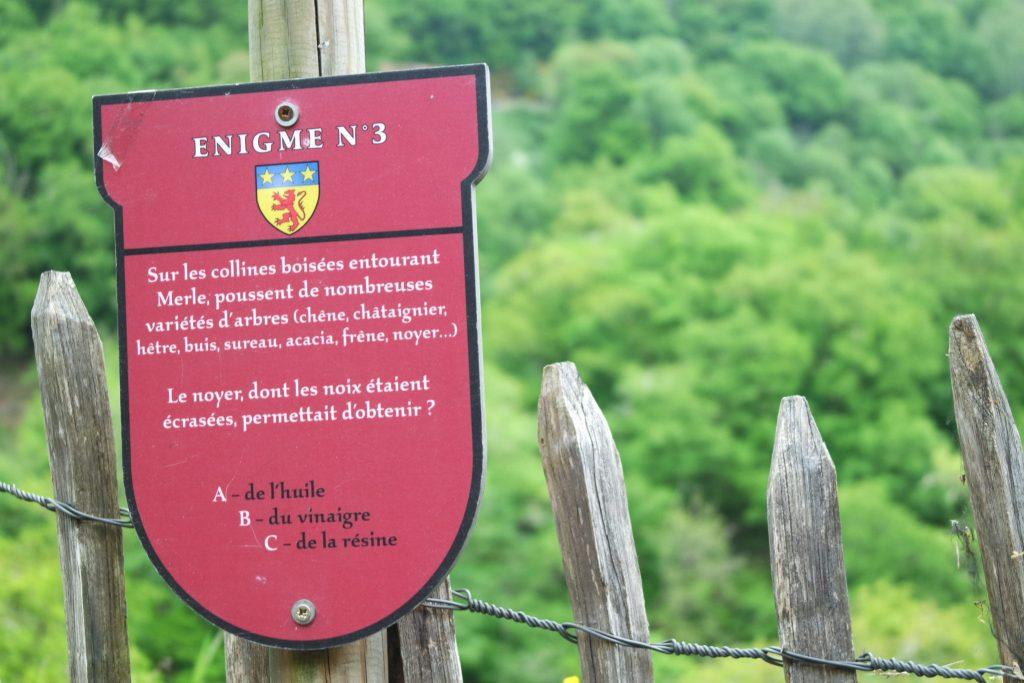 Découverte Tour de Merle Corrèze