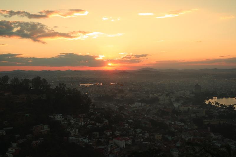 Sunset Antananarivo