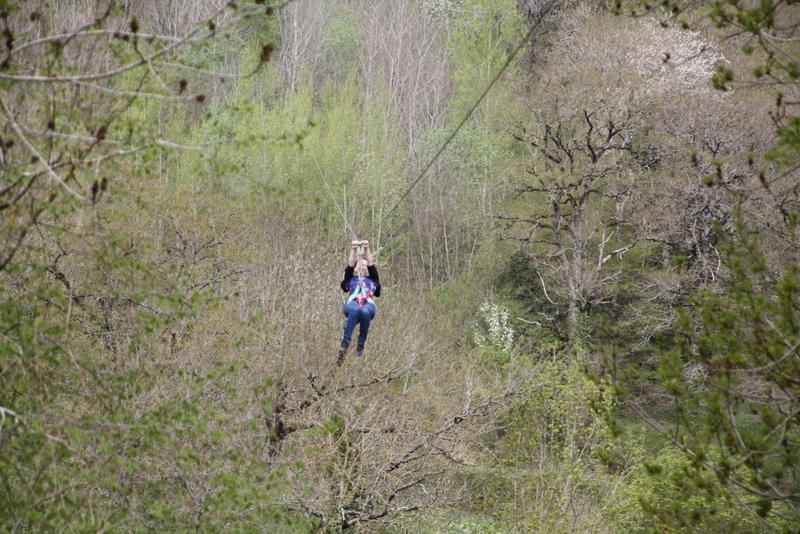 Tyrolienne géante Des Causses à l'Aubrac
