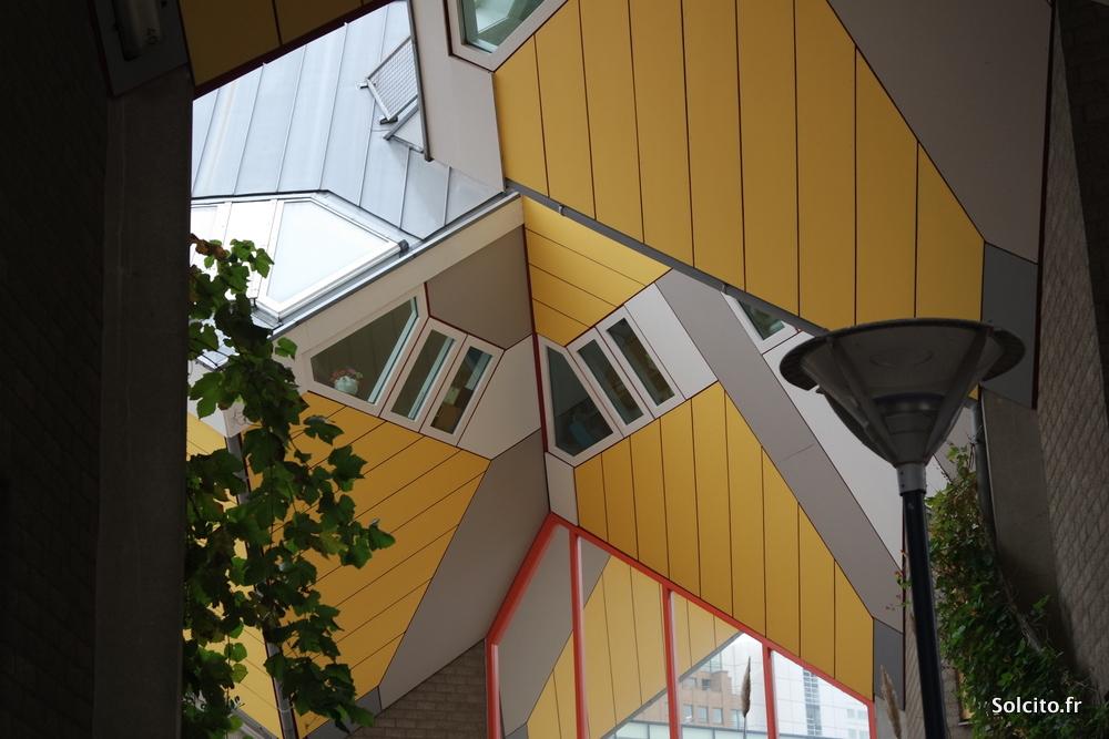 Maisons géométriques Rotterdam