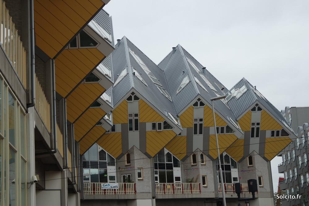 Maison cubiques Piet Blom