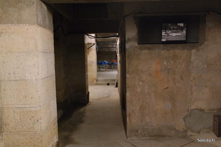 Visite sous-sols Monument aux Girondins