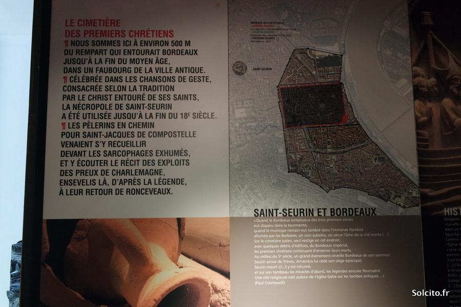 Site archéologique Saint Seurin