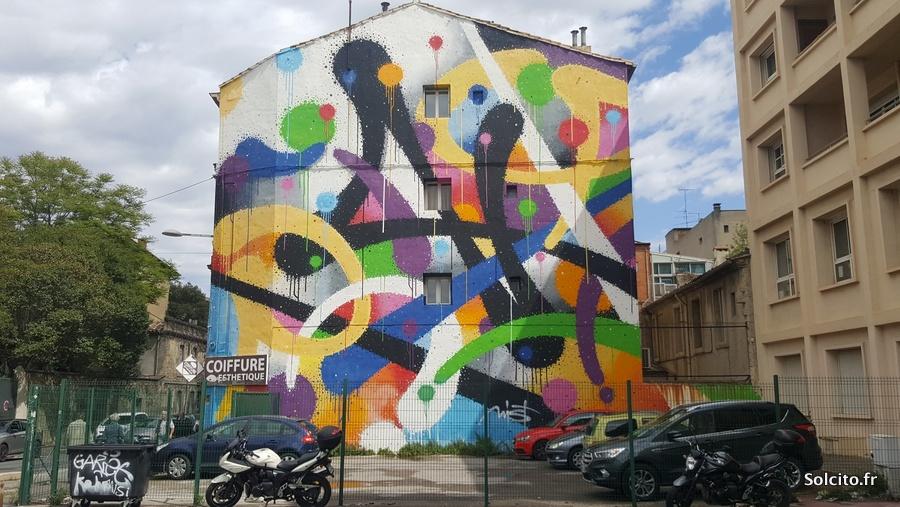 promenade street art montpellier