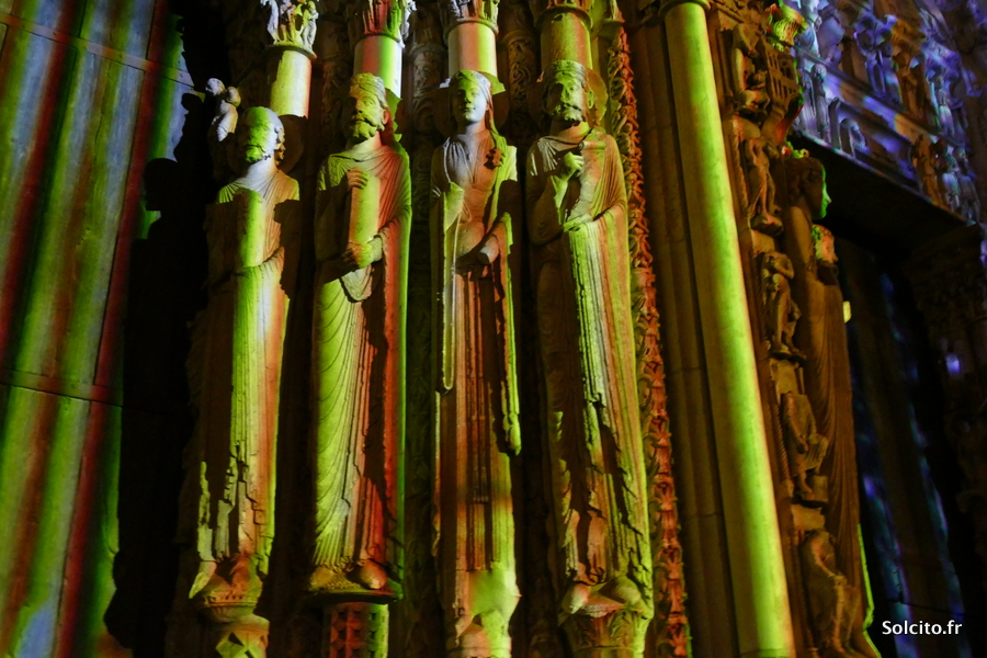 Notre Dame de Chartres en Lumières
