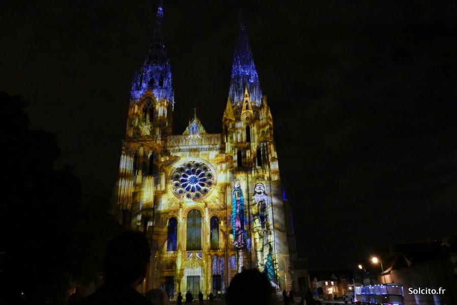 Evenement Chartres en lumières