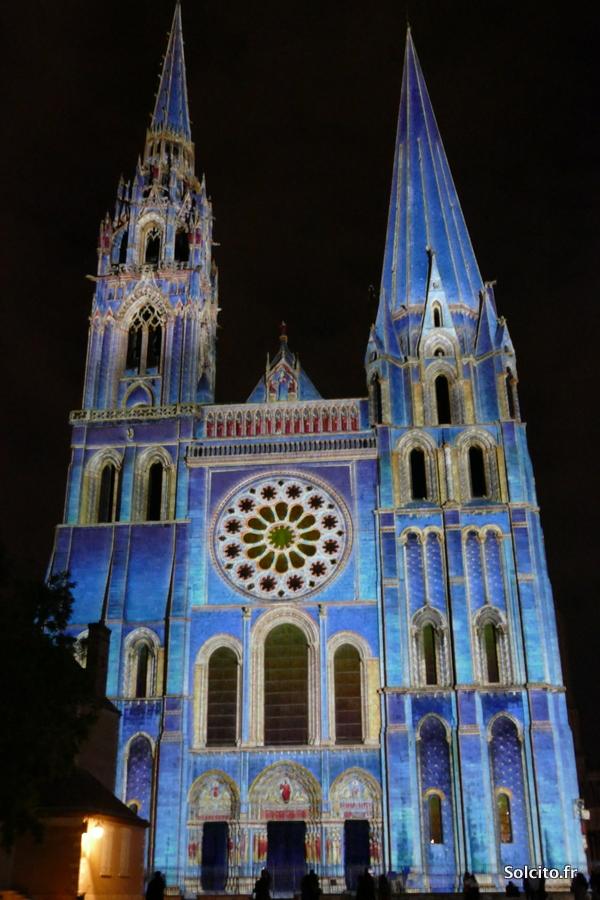 Chartres en lumieres en 2020