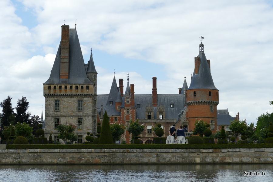 Vue sur le Chateau de Maintenon