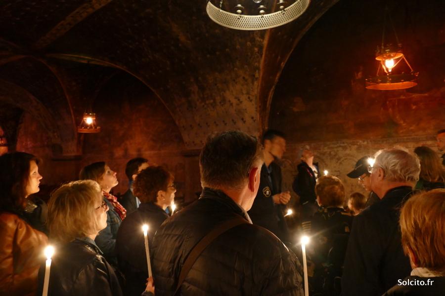 Crypte Notre Dame de Chartres