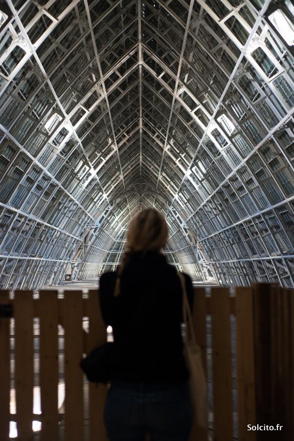 Structure métal cathédrale Chartres