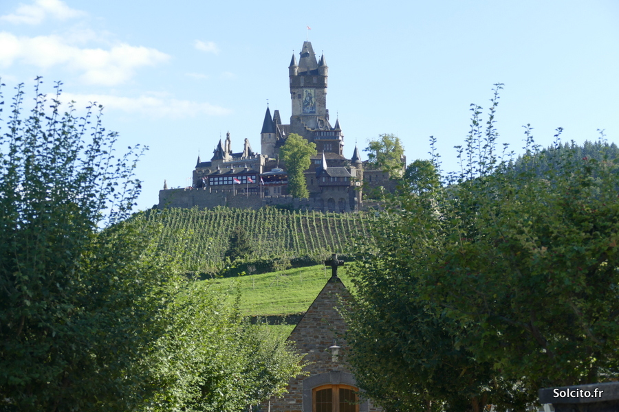 Chateau Cochem Rhenanie Palatinat