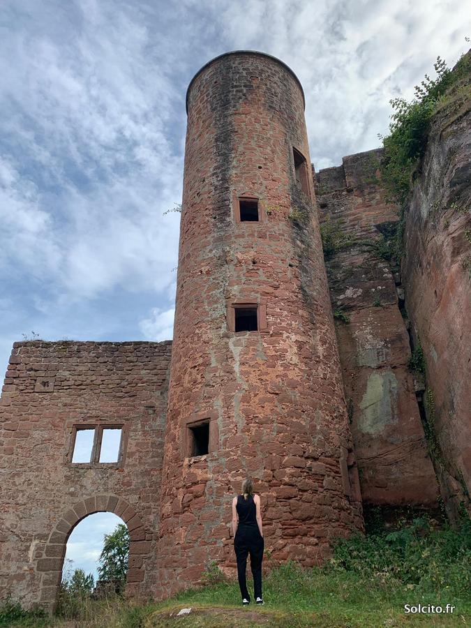 Neudahn Castle en Rhenanie-Palatinat