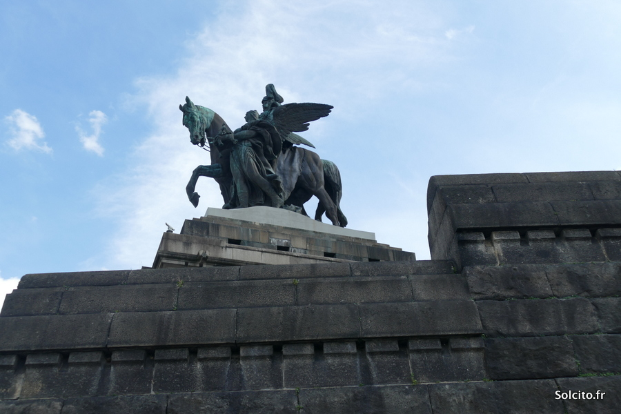 Statue Coblence Rhénanie-Palatinat