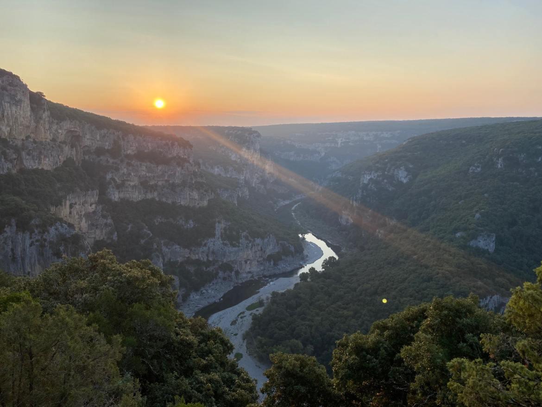 Activité insolite gorges de l'Ardèche