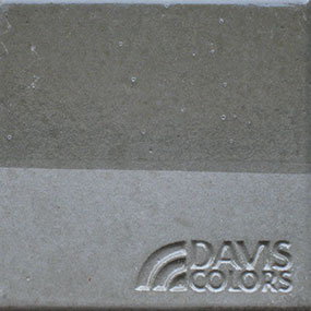 green slate color concrete chip