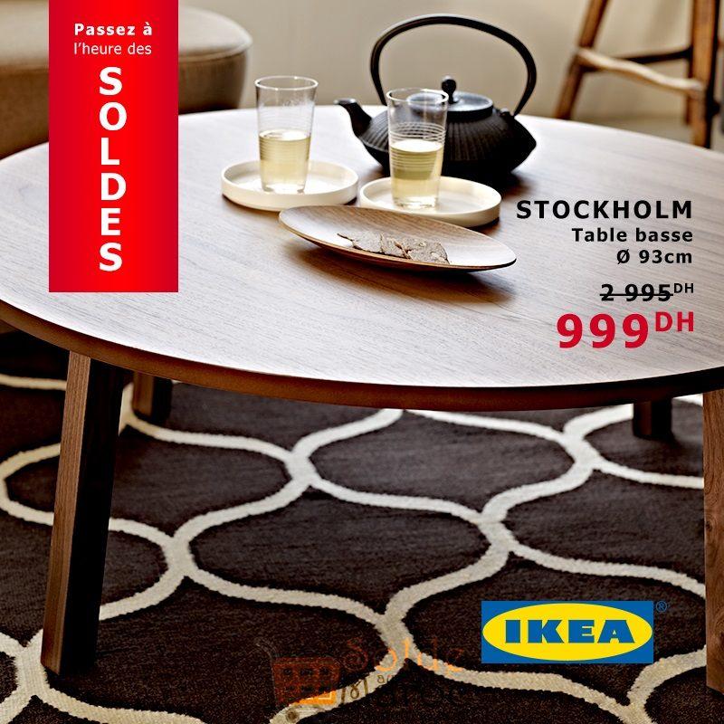 Soldes Ikea Maroc Table Basse Stockholm 999dhs Solde Et