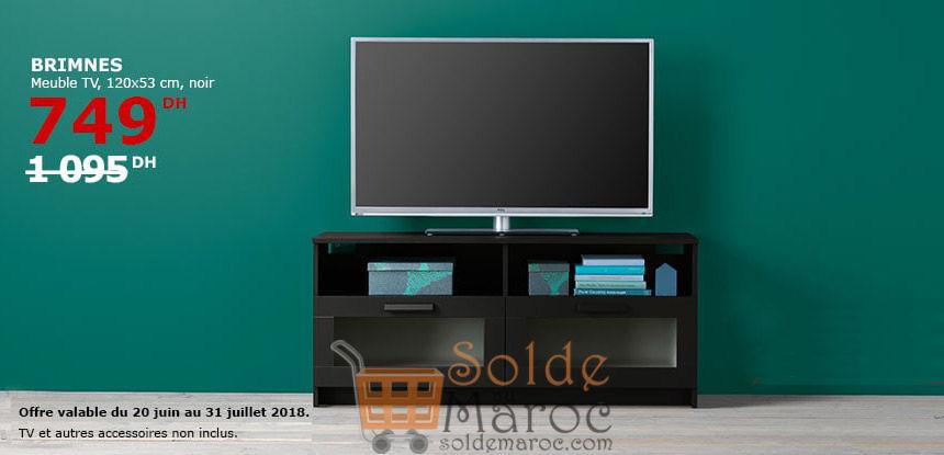 soldes ikea maroc meuble tv brimnes 749dhs