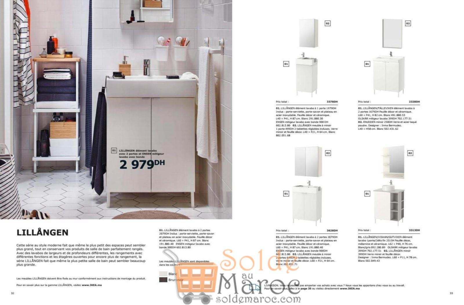 rangement salle de bain ikea maroc