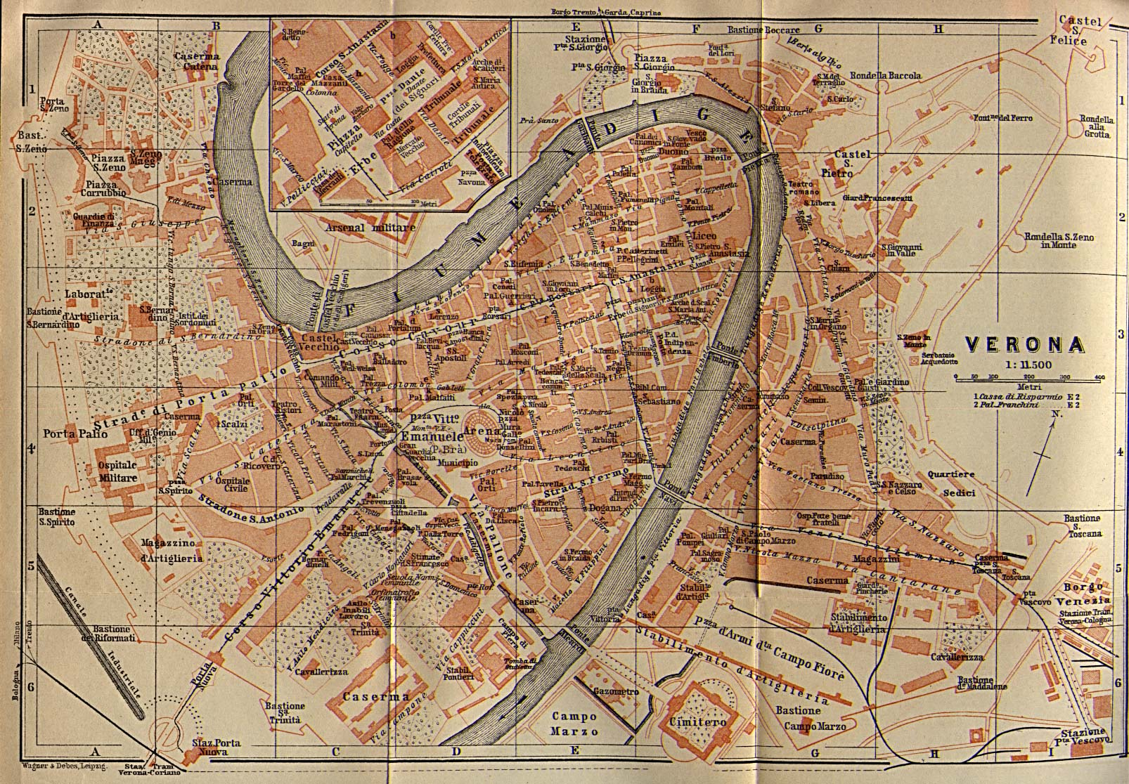 A Map of Verona  by Henry Reed I thought  are these the streets to walk in the mornings  Are these the  gardens to linger in at night