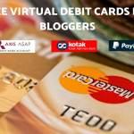 Virtual Debit Card