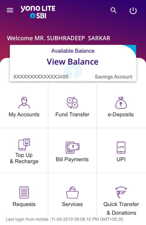 SBI Yono for iOS