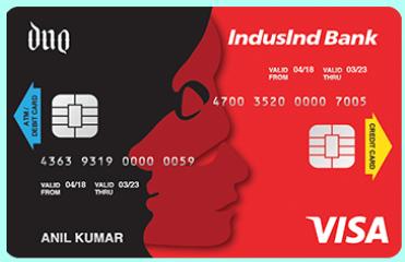 IndusInd Bank Duo Card