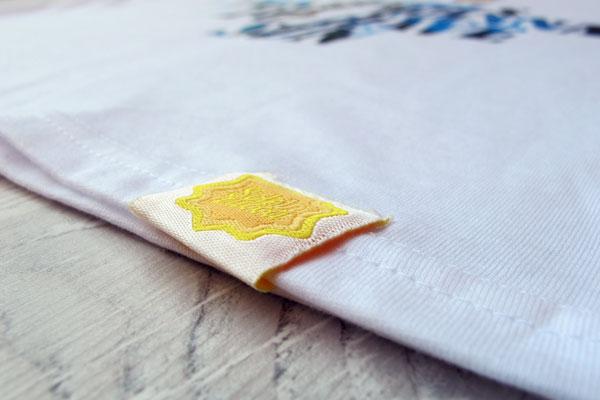 t-shirt Sole in Zucca, cotone di alta qualità