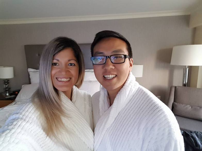 Fluffy Robes at Pan Pacific Vancouver