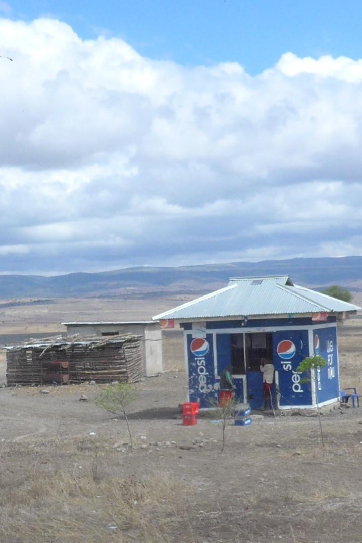 Maasai shop