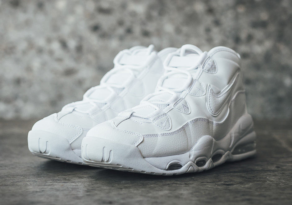 Nike Air Uptempo Triple White Pack For Summer 2017