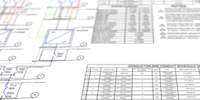 solar one line diagram 101 for solar contractors