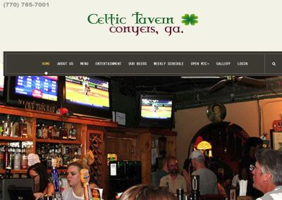 CELTIC TAVERN – CONYERS, GA