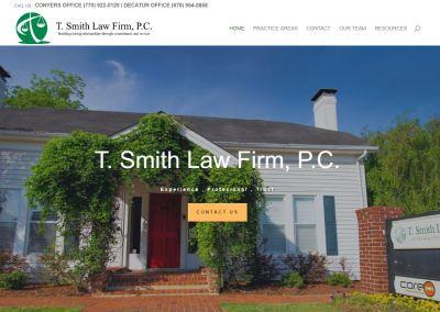 Solia Designs Tricia Smith Law Firm Website
