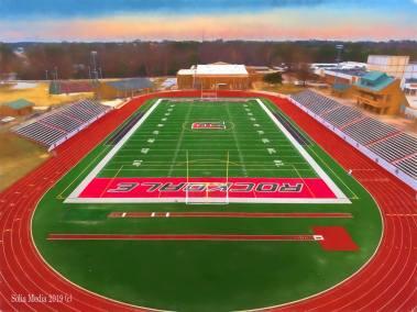Solia Media Best Drone Photography Conyers, Covington, Rockdale, Monroe, East Atlanta - Reid Stadium Rockdale County Georgia High School