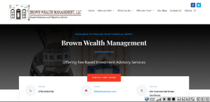Solia Media Revamps Brown Wealth Management Site