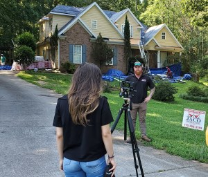 Solia Media's Sophie Chapar Shoots Professional Video - Metro Atlanta Digital Media