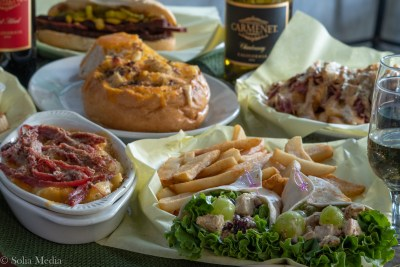 Assorted dishes -Celtic Tavern of Olde Town Conyers - Solia Media Food Photography