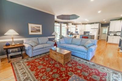 40 Highland Ridge, Oxford GA - TV Room Looking Toward Kitchen - Solia Media Real Estate Photography