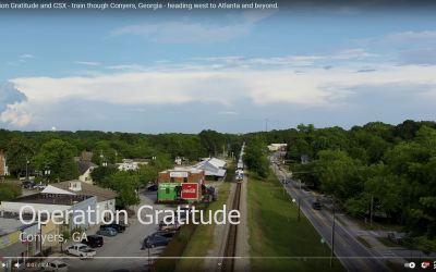 Operation Gratitude Train in Conyers, Georgia – CSX