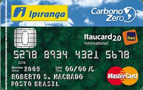 Cartão Ipiranga Itaucard 2.0 Carbono Zero