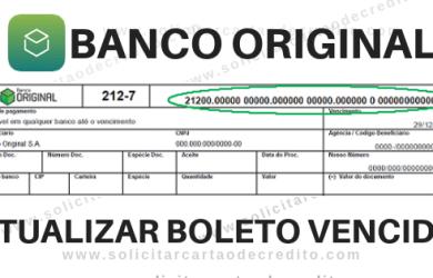 ATUALUZAR BOLETO VENCIDO ORIGINAL