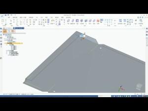 Solid Edge 2D圖面產生鈑金