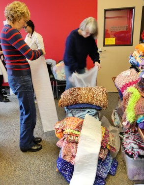 Packing donations